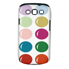 Brights Pastels Bubble Balloon Color Rainbow Samsung Galaxy S Iii Classic Hardshell Case (pc+silicone) by Mariart