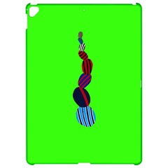 Egg Line Rainbow Green Apple Ipad Pro 12 9   Hardshell Case by Mariart