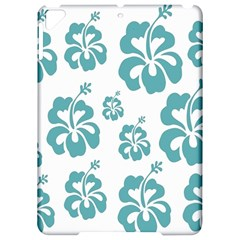 Hibiscus Flowers Green White Hawaiian Blue Apple Ipad Pro 9 7   Hardshell Case by Mariart