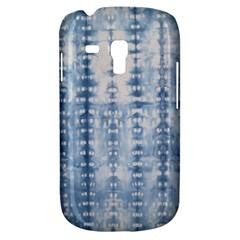 Indigo Grey Tie Dye Kaleidoscope Opaque Color Galaxy S3 Mini by Mariart