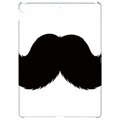 Mustache Owl Hair Black Man Apple Ipad Pro 12 9   Hardshell Case by Mariart