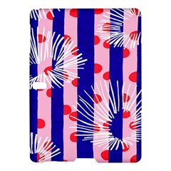 Line Vertical Polka Dots Circle Flower Blue Pink White Samsung Galaxy Tab S (10 5 ) Hardshell Case  by Mariart
