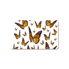Butterfly Spoonflower Magnet (name Card) by Mariart