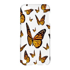 Butterfly Spoonflower Apple Ipod Touch 5 Hardshell Case by Mariart