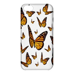 Butterfly Spoonflower Apple Iphone 5c Hardshell Case by Mariart