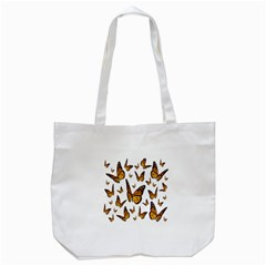 Butterfly Spoonflower Tote Bag (white) by Mariart