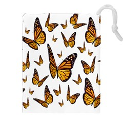 Butterfly Spoonflower Drawstring Pouches (xxl) by Mariart