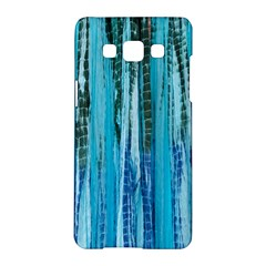 Line Tie Dye Green Kaleidoscope Opaque Color Samsung Galaxy A5 Hardshell Case  by Mariart