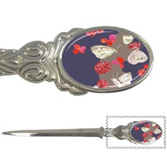 Original Butterfly Carnation Letter Openers by Mariart