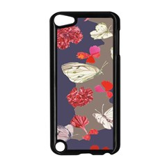Original Butterfly Carnation Apple Ipod Touch 5 Case (black) by Mariart
