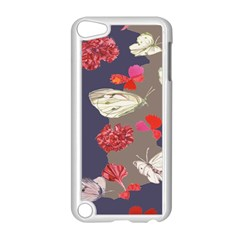 Original Butterfly Carnation Apple Ipod Touch 5 Case (white) by Mariart