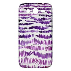 Original Feather Opaque Color Purple Samsung Galaxy Mega 5 8 I9152 Hardshell Case  by Mariart