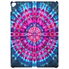 Red Blue Tie Dye Kaleidoscope Opaque Color Circle Apple Ipad Pro 12 9   Hardshell Case by Mariart