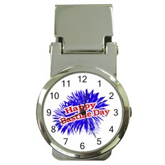 Happy Bastille Day Graphic Logo Money Clip Watches by dflcprints