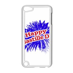 Happy Bastille Day Graphic Logo Apple Ipod Touch 5 Case (white) by dflcprints