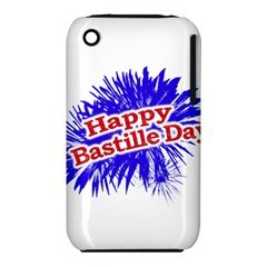 Happy Bastille Day Graphic Logo Iphone 3s/3gs by dflcprints