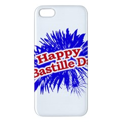 Happy Bastille Day Graphic Logo Apple Iphone 5 Premium Hardshell Case by dflcprints