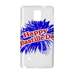 Happy Bastille Day Graphic Logo Samsung Galaxy Note 4 Hardshell Case by dflcprints