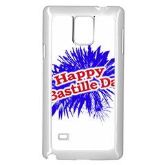 Happy Bastille Day Graphic Logo Samsung Galaxy Note 4 Case (white) by dflcprints