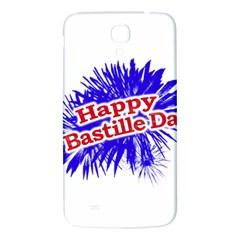 Happy Bastille Day Graphic Logo Samsung Galaxy Mega I9200 Hardshell Back Case by dflcprints
