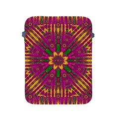 Feather Stars Mandala Pop Art Apple Ipad 2/3/4 Protective Soft Cases by pepitasart