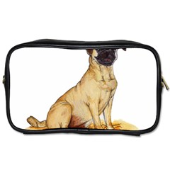 Pug Color Drawing Toiletries Bags 2-Side