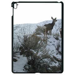 White Tail Deer 1 Apple iPad Pro 9.7   Black Seamless Case by TailWags