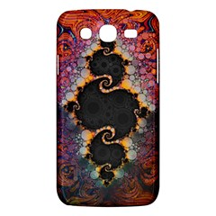 The Eye Of Julia, A Rainbow Fractal Paint Swirl Samsung Galaxy Mega 5 8 I9152 Hardshell Case  by beautifulfractals
