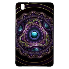 Beautiful Turquoise And Amethyst Fractal Jewelry Samsung Galaxy Tab Pro 8 4 Hardshell Case by beautifulfractals