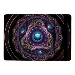 Beautiful Turquoise And Amethyst Fractal Jewelry Samsung Galaxy Tab Pro 10 1  Flip Case by beautifulfractals
