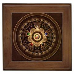 Gathering The Five Fractal Colors Of Magic Framed Tiles by beautifulfractals