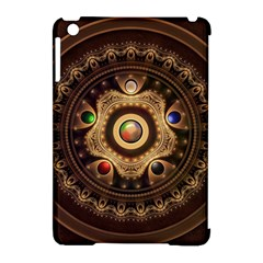 Gathering The Five Fractal Colors Of Magic Apple Ipad Mini Hardshell Case (compatible With Smart Cover) by beautifulfractals