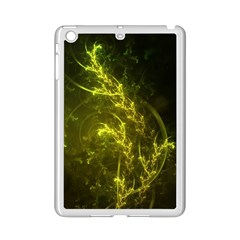 Beautiful Emerald Fairy Ferns In A Fractal Forest Ipad Mini 2 Enamel Coated Cases by beautifulfractals