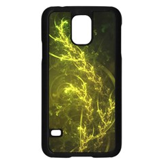 Beautiful Emerald Fairy Ferns In A Fractal Forest Samsung Galaxy S5 Case (black) by beautifulfractals