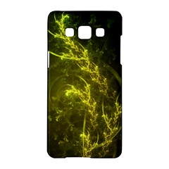 Beautiful Emerald Fairy Ferns In A Fractal Forest Samsung Galaxy A5 Hardshell Case  by beautifulfractals