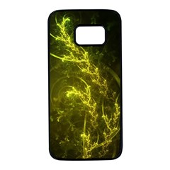 Beautiful Emerald Fairy Ferns In A Fractal Forest Samsung Galaxy S7 Black Seamless Case by beautifulfractals