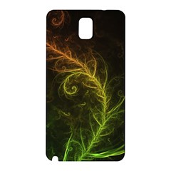 Fractal Hybrid Of Guzmania Tuti Fruitti And Ferns Samsung Galaxy Note 3 N9005 Hardshell Back Case by jayaprime