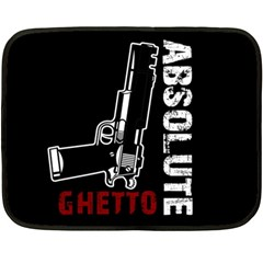 Absolute Ghetto Fleece Blanket (mini) by Valentinaart