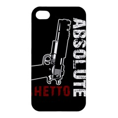 Absolute Ghetto Apple Iphone 4/4s Hardshell Case by Valentinaart