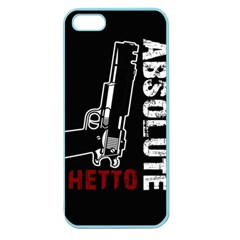 Absolute Ghetto Apple Seamless Iphone 5 Case (color) by Valentinaart