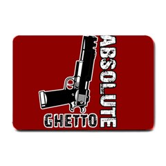 Absolute Ghetto Small Doormat  by Valentinaart
