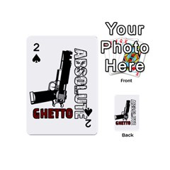 Absolute Ghetto Playing Cards 54 (mini)  by Valentinaart
