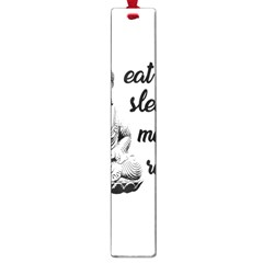 Eat, Sleep, Meditate, Repeat  Large Book Marks by Valentinaart