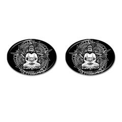 Ornate Buddha Cufflinks (oval) by Valentinaart