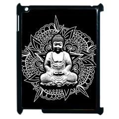 Ornate Buddha Apple Ipad 2 Case (black) by Valentinaart