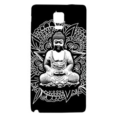 Ornate Buddha Galaxy Note 4 Back Case by Valentinaart
