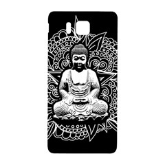 Ornate Buddha Samsung Galaxy Alpha Hardshell Back Case by Valentinaart