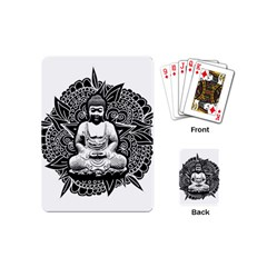 Ornate Buddha Playing Cards (mini)  by Valentinaart