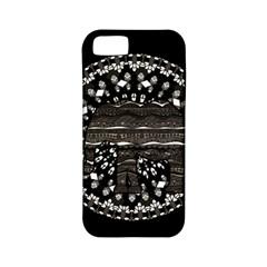 Ornate Mandala Elephant  Apple Iphone 5 Classic Hardshell Case (pc+silicone) by Valentinaart