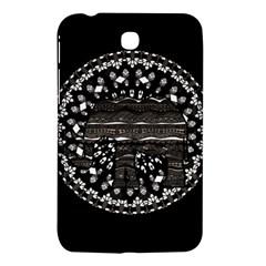 Ornate Mandala Elephant  Samsung Galaxy Tab 3 (7 ) P3200 Hardshell Case  by Valentinaart